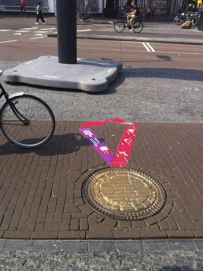 Guerilla in binnenstad Utrecht